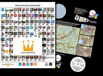 Konstrikets konstrunda – kartan 2016